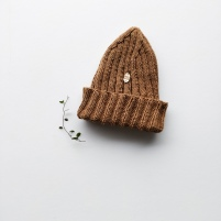 Rouheaknits Top-down beanie, pattern coming SS19
